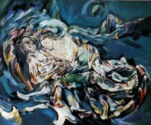 la sposa del vento Oskar Kokoschka 1914