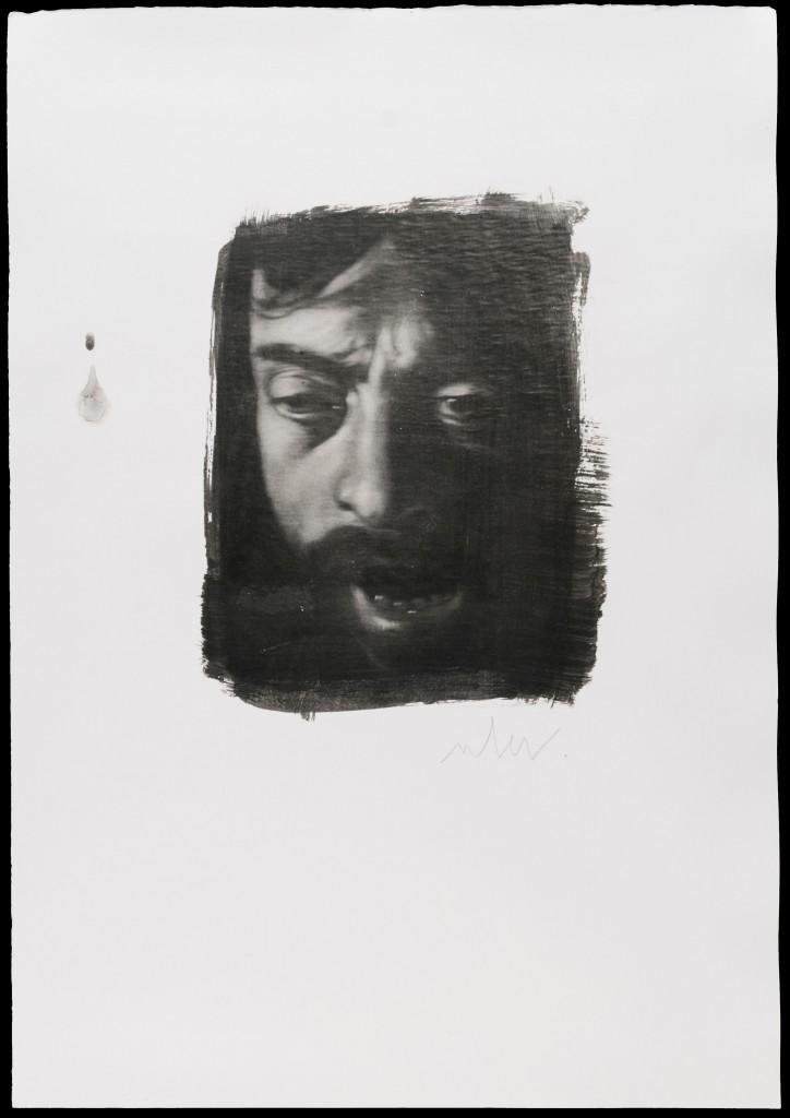 Caravaggio - autoritratto cm 50x35